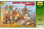 Солдаты Немецкие горные стрелки 'Эдельвейс' (1/35)