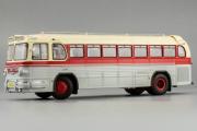 Автобус ЗИС-127, маршрут 'Ленинград-Москва', белый/красный (1/43)