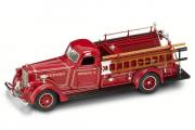 American Lafrance B-550RC пожарный 1939, красный (1/43)
