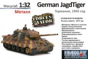 Танк Jagdtiger, Германия 1945 (1/32)