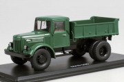 МАЗ-205 самосвал, темно-зеленый (1/43)