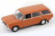 Fiat 125 P Kombi, коричневый (1/43)