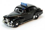 Opel Capitan Полиция ФРГ 1951, черный (1/43)
