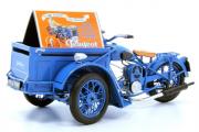 Мотоцикл Peugeot Triporteur 55TN 1952, синий (1/18)