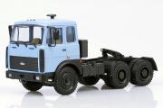 МАЗ-64221 седельный тягач поздний 1989, голубой (1/43)