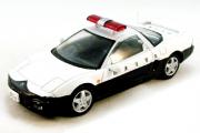 Honda NSX полиция Японии, белый/черный (1/43)