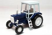 Трактор МТЗ-82 'Беларус' пластик, синий/белый (1/43)