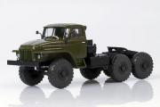 Урал-377С седельный тягач 6х4 1965, хаки (1/43)