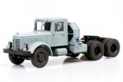 ЯАЗ-210Д седельный тягач, серый (1/43)