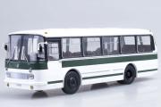 Автобус ЛАЗ-695Р, белый/зеленый (1/43)