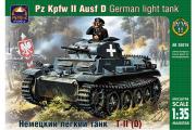 Танк немецкий легкий T-II D (1/35)