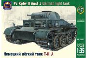 Танк немецкий легкий T-II J (1/35)