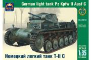 Танк немецкий легкий T-II C (1/35)
