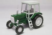 Трактор МТЗ-82 'Беларус' пластик, зеленый/белый (1/43)