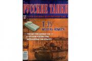Журнал Русские танки №018 Танк Т-35