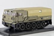 АТС-59Г артиллерийский гусеничный тягач, хаки (1/43)