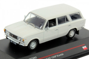 Fiat 125P Kombi Polski 1973, белый (1/43)