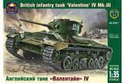 Танк английский Valentine IV (1/35)