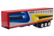 Полуприцеп-фургон Iveco, красный. На комиссии (1/43)
