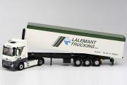 Mercedes-Benz Actros MP4 тягач с полуприцепом Lalemant Trucking, белый/зеленый (1/43)