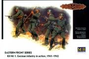 Немецкая пехота в атаке 1941-1942 (КИТ №1) (1/35)