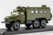 Урал-375Д кунг К-375, хаки (1/43)