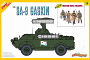 SA-9 GASKIN + Motor rifle troops (1/35)