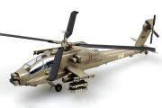 Вертолет AH-64A 'Apache' US Army, IFOR, Bosnia 1996, серый (1/72)
