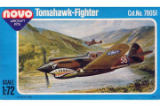 Самолет Curtiss P-40B Tomahawk (F197). Нет декали (1/72)