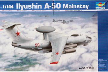 Самолет А-50 (Ил-76) Mainstay (1/144)