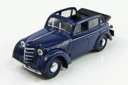 Москвич-400-420А кабриолет, синий (1/43)
