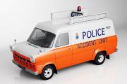 Ford Transit MK1 полиция Великобритании, белый/оранжевый (1/43)
