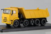 КАМАЗ-6540 самосвал 8х4, желтый (1/43)