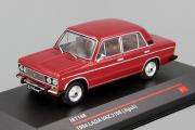 ВАЗ-2106 1984, вишневый (1/43)