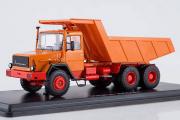 Magirus-290D26K самосвал, оранжевый/красный (1/43)