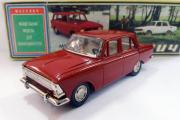 Москвич-408, вишневый. Сделано в СССР (1/43)