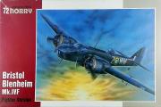 Самолет Bristol Blenheim Mk.IVF Fighter Version (1/72)