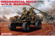 Автомобиль Mechanical Mule w/US-Marines (1/35)