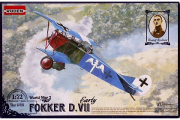 Самолет Fokker D.VII early (WWI) (1/72)
