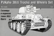 Гусеницы и подвеска танка 38(t) Прага (1/35)