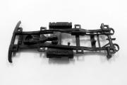 Рама УАЗ-469 А34 (сделано в СССР) пластик, черный 1 шт. (1/43)