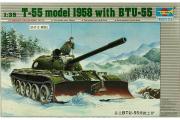 Танк Т-55 с БТУ-55 1958 (1/35)