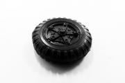 Резина + диск Камаз-5320 одиночное 1 шт. (1/43)