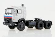 КАМАЗ-54115 седельный тягач, серый (1/43)