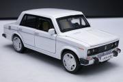 ВАЗ-2106 'Жигули', белый. Свет, звук (1/32)