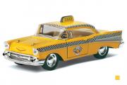 Chevrolet Bel Air Taxi 1957, желтый (1/40)