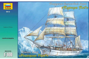 Корабль 'Пуркуа-Па?' парусно-винтовой барк (1/100)