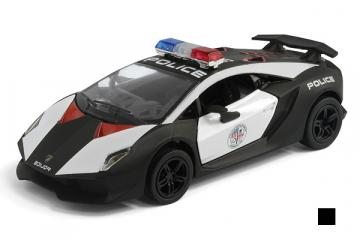 Lamborghini Sesto Elemento Police, черный/белый (1/38)