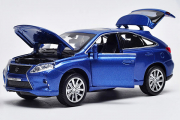 Lexus RX450H, синий (свет, звук) (1/32)