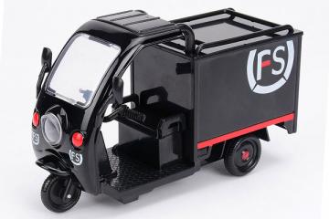 Мотороллер грузовой 'SF Express', черный (свет, звук) (1/12)
